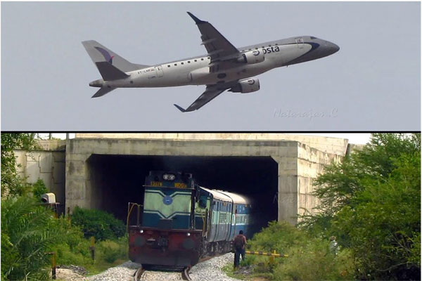 indian-railways and air lines